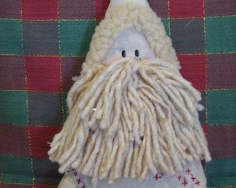 Vintage Cloth Santa