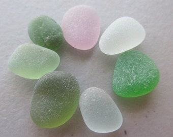 Sea Beach Glass Supply GENUINE - Sea Glass Lot Pieces - Jewelry Making Supply