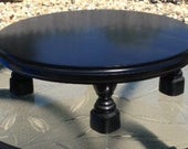 Sold to prpalms5 / 16 inch cake plate, gloss black