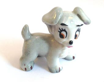 Wade Whimsie: Scamp - From Lady & the Tramp Disney's series 1956-65 - Wade Scamp - Whimsie Scamp - Wade Disney - Wades - Disney Scamp