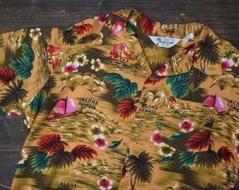 Vintage 80s Hawaiin Shirt