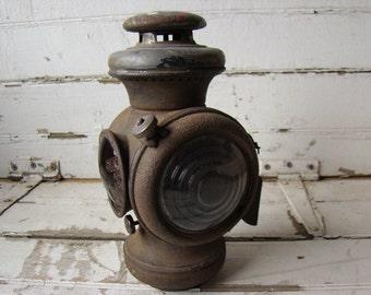 model t kerosene tail light lamp - Indiana - 1909