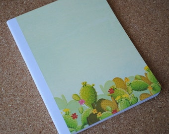 Southwestern Cacti, Full Sized, Altered Composition Notebook