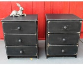 Rustic Side Chest of Drawers