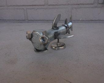 Shark Metal Sculpture Magnet