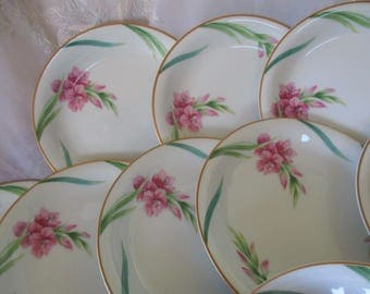 Noritake Karen Coupe  Bread Plates  good to Very good Set of 4 Bread plates  Noritake Vintage Karen China Galore  3 SETS of 4 available