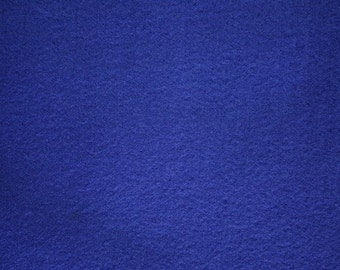 """Royal Blue Felt Fabric 72"""" Wide Per Yard"""