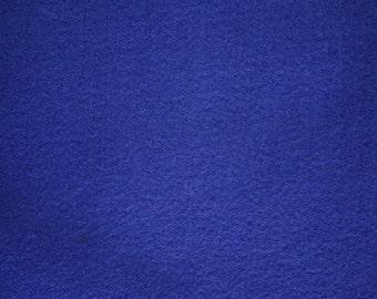 "Royal Blue Felt Fabric 72"" Wide 15 Yards Wholesale"