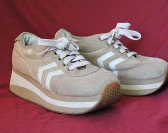 dope 90s platform sneakers sketchers