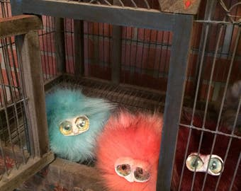 Pygmy Puff Harry Potter inspired keychain Ginny Weasley Arnold