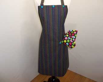 Colorful Confetti Artist Apron
