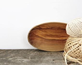 SALE - Tiny Bowl - White Mint Green Woodgrain - Jewelry Bowl - Key Bowl