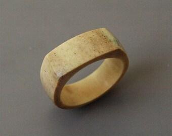 Antler and bone rings