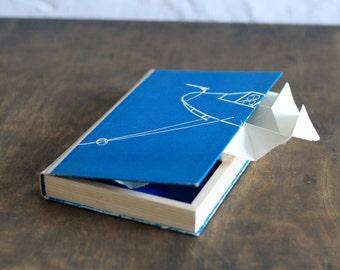 "Hollow Book Treasure Box Sherlock ""Plane"", Secret Hideout"