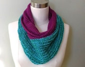 Teal and Magenta Color Bl...