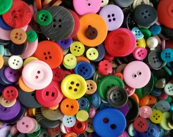 All Colors of Sewing Buttons 5 to 30mm