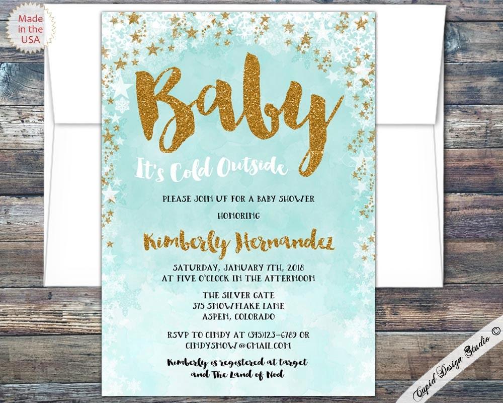 winter wonderland baby shower invitations winter baby shower