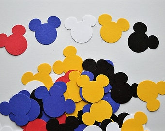 Mickey Confetti - Mickey Mouse Paper Confetti Birthday Party Decor, Baby Shower!