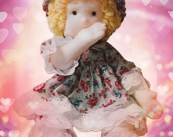 Tutorial PDF & PATTERN Cloth Baby Doll - Nancy - Simple Technique and Pattern for Doll and Clothes. Step by step. Easy to do!