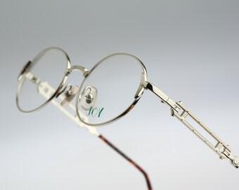 Joy Kazu / Vintage eyeglasses and sunglasses / NOS  90's rare designer eyewear prescription frame