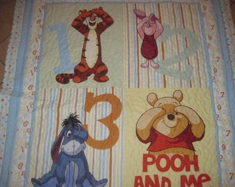 Pooh and Me Baby and/or Toddler Quilt