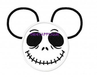 Nightmare before Christmas Jack Inspired Mouse Custom embroidered Disney Inspired Vacation Shirts for the Family! 75a