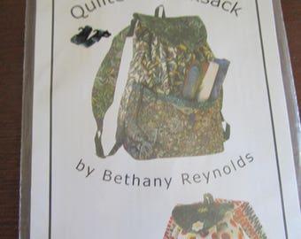 Quilter's Rucksack Pattern