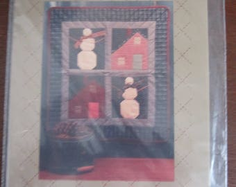 First Snow Quilted Wallhanging Pattern