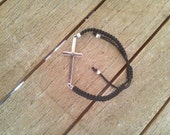 Sideways cross bracelet, ...