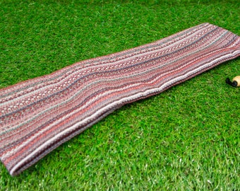 Native American Style Aztec Tapestry Flute Bag 67 cm x 12 cm
