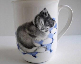 Vintage Otagiri Kitten Cat Mug Jonah's Workshop