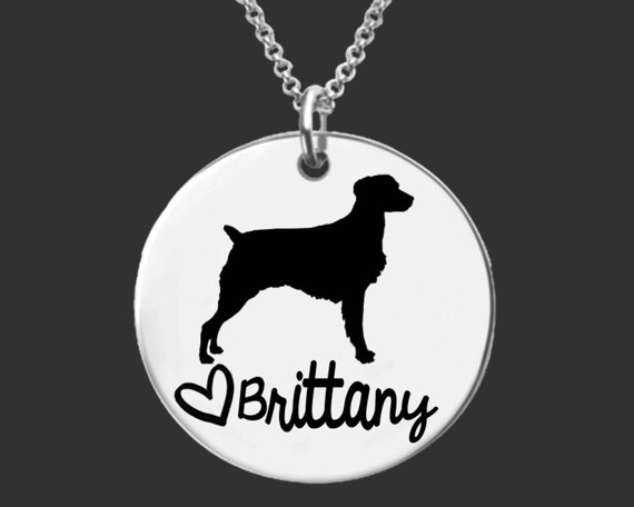Brittany Necklace | Brittany Jewelry | Personalized Dog Necklace | Personalized Gifts | Korena Loves