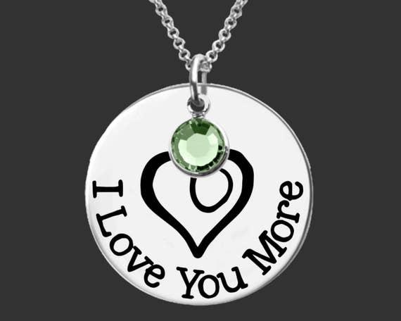 Daughter Gift | Teen Gifts | Granddaughter Gifts | I Love You More | Personalized Gifts | Korena Loves