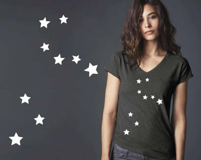 Leo Constellation | Leo | Zodiac T-shirt | Leo Tee | Leo T-shirt | Zodiac Tee | Custom T-shirts | Korena Loves