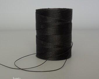 Black C-Lon Micro Cord, Tex 70, 320 Yard Bobbin