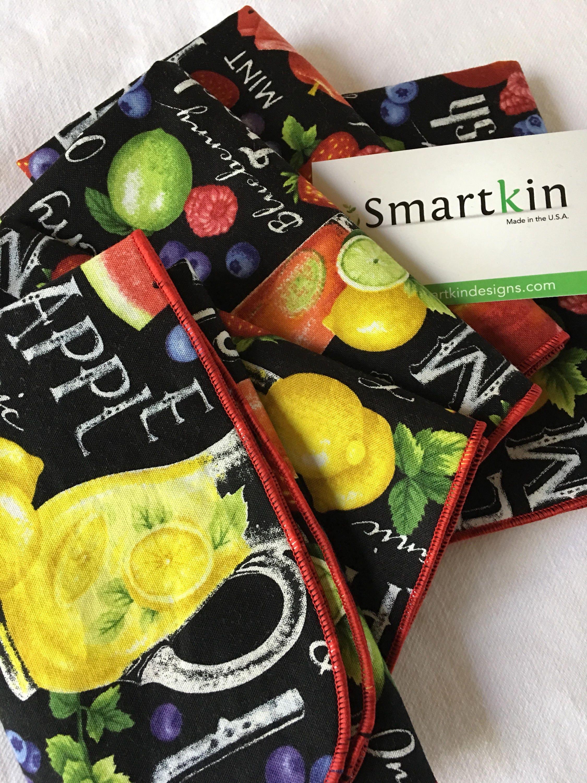 Farmer john assorted fruit fabric all cotton lunch box for 12x15 calculator