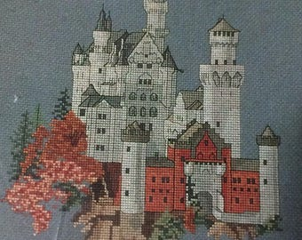 Cross Stitch Castle 4 Medieval Castle Graphs And Directions And Full Kit For One Castle New And Unopened