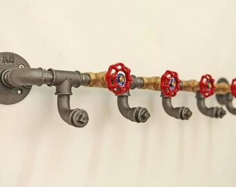wardrobe Industrial design rack steel pipe