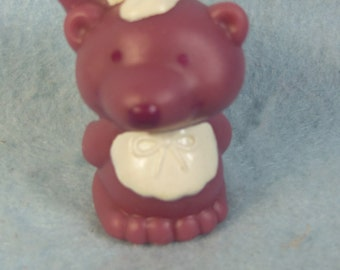 """Vintage Strawberry Shortcake-Angel Cakes Pet-Souffle 2 """"Tall-Rubber-1980s"""