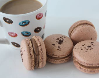 Espresso French Macarons