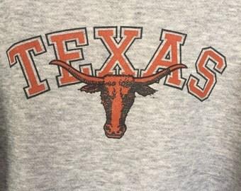 Vintage Texas Longhorns Sweatshirt