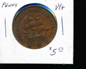 South Africa 1940 Penny