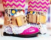 Boho boots/Gypsy Boots/ Handmade Boots