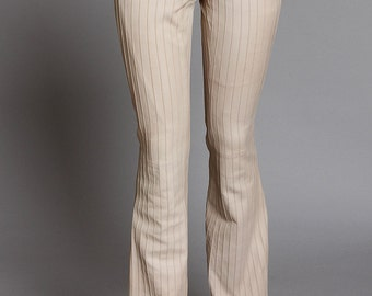 Tom Ford for Gucci blush-colored leather pant - very sexy and iconic, very rare