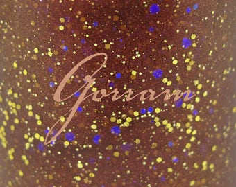 "Gorram glitter nail polish 15 mL (.5 oz) from the ""S(!-l=!"" Collection"