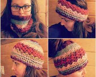 PATTERN ONLY 4 Way Messy Bun Beanie