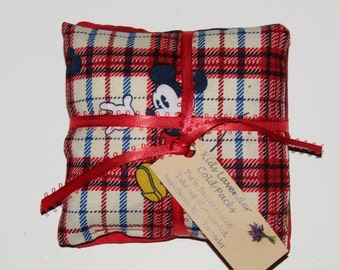 Mickey Mouse Kids Lavender Cold Packs Set/2