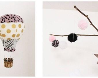 "Mobile ""Balloon ride"" Vintage Denim"