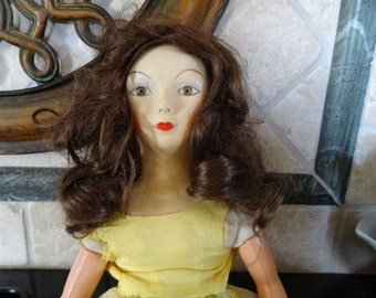 Doll wig, synthetic materials, size 12 - 14 by Revlon