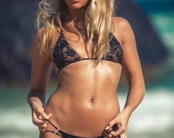 Lace G string bikini